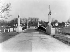 March 24, 1932.  Marshallton Bridge in New Castle, Delaware.  1540-000-009 #1322.  Delaware Public Archives. www.archives.delaware.gov