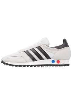 adidas Originals. LA TRAINER OG - Sneakers basse - vintage white core black  f943d39bcafc