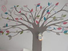Baum Kinderzimmer 'Warten auf Madame Klitzeklein <3' - CasaNostra - Zimmerschau