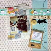 Instax Love by medga902 from our Scrapbooking Gallery originally submitted 05/28/13 at 11:30 PM