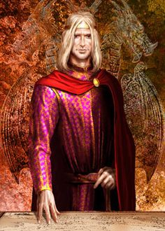 AEGON V.jpg by artist named AMOK - In his youth, he went by the nickname Egg and squired for Ser Duncan the Tall. He was Aegon V Targaryen who was a lord of the seven Kingdoms and 15th #Targaryen to sit at the #IronThrone
