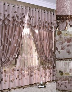 Fall Feeling Leaf Dark Color Sheer and window art curtains Leaf Curtains, Home Curtains, Grommet Curtains, Curtains For Kitchen, Camper Curtains, Curtain Fabric, Luxury Curtains, Modern Curtains, Gray Sheer Curtains