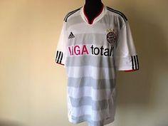 Maglia Calcio Trikot Bayern Munchen Shirt Football Adidas Maillot Tg. L (B60)