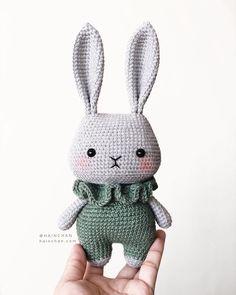 Little Bunny Crochet Pdf Pattern Instan - Diy Crafts Easy Crochet Animals, Bunny Crochet, Crochet Animal Patterns, Crochet Doll Pattern, Stuffed Animal Patterns, Crochet Patterns Amigurumi, Cute Crochet, Crochet Dolls, Simple Crochet