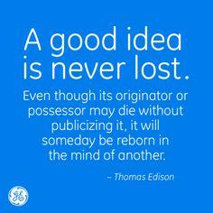 Pretty powerful, #Edison. #GE