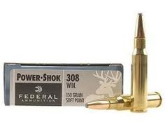 Great all round caliber .308 Winchester