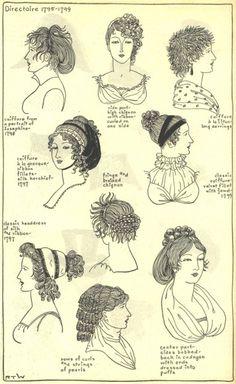 Village Hat Shop Gallery :: Chapter 12 - Directoire 1795-1799 :: 192_G