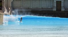 ... Wave Pool, Surfing, Waves, Park, Pools, Outdoor Decor, Swiming Pool, Surf, Parks