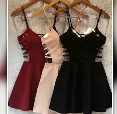 Pin by Kinoy Griffith on clothes in 2019 Girls Fashion Clothes, Teen Fashion Outfits, Sexy Outfits, Pretty Outfits, Pretty Dresses, Beautiful Dresses, Dress Outfits, Casual Outfits, Hoco Dresses