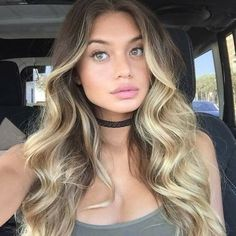 Next hair color Ombré Hair, New Hair, Blonde Hair, Hair Contouring, Balayage Blond, Pinterest Hair, Hair Today, Hair Highlights, Down Hairstyles