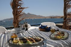 Perfect lunch. Cabo de gata. Spain