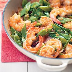 Gingery Shrimp and Couscous Recipe | MyRecipes.com