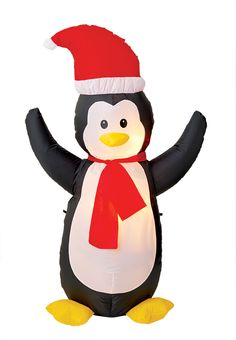 Inflatable Christmas Decor / Décoration de Noël Gonflable #ChristmasDecor #DecorDeNoel