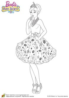 Coloriage Barbie Et La Porte Secrete Alexa Est Etonee Find This Pin And More On Coloring Pages