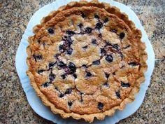 gluten-free cherry frangipane tart