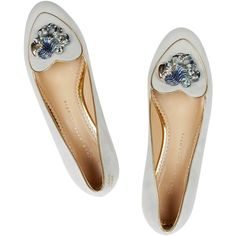 Charlotte Olympia Aquarius suede slippers and other apparel, accessories and trends. Browse and shop 11 related looks.