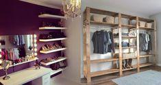 Transforma tu habitación con estas 10 closets económicos y prácticos – Manos a la Obra Ideas De Closets, Room, Home Decor, Make A Closet, Homemade Home Decor, Decoration Home, Room Decor, Interior Design, Home Interiors