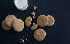Brown-Sugar Brown-Butter Shorties: 2000s Recipes + Menus : gourmet.com  1 1/2 sticks unsalted butter  1/2 cup packed brown sugar (preferably dark)  1 teaspoon pure vanilla extract  1 1/3 cups all-purpose flour  1/4 teaspoon salt