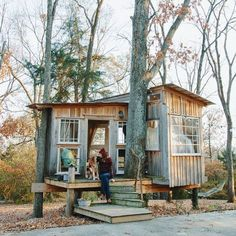 My Shed Plans - Shed Plans - Whiskey Grit - wakeourworld: (via TumbleOn) - Now You Can Build ANY Shed In A Weekend Even If Youve Zero Woodworking Experience! - Now You Can Build ANY Shed In A Weekend Even If Youve Zero Woodworking Experience! Treehouse Masters, Cozy Backyard, Backyard Kitchen, Build A Playhouse, Tree House Designs, Tiny House Cabin, Building A Shed, Building Plans, Shed Plans