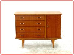 COMMODE BUFFET VINTAGE ANNEES 1950