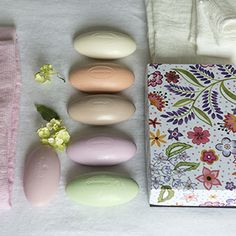 Box Of Six Fragonard Soaps | Designers Guild UK