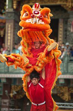 Kaohsiung Lion Dance Festival, GuangJi Temple, Qianzhen, Kaohsiung City, Taiwan