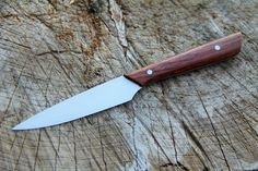 Seine Paring Knife with a Padauk wood handle that was recently shipped out to a customer all the way out in Tasmania!