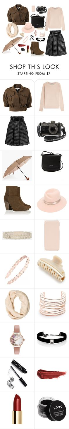 """""""Warm"""" by annibercutt ❤ liked on Polyvore featuring Veronica Beard, Vince, ShedRain, Lancaster, rag & bone, Maison Michel, CHARLES & KEITH, Ted Baker, Tasha and Alexandre de Paris"""