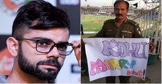 विराट को शादी का प्रस्ताव दिया पाकिस्तान की पुलिसकर्मी ने | Punjab Kesari