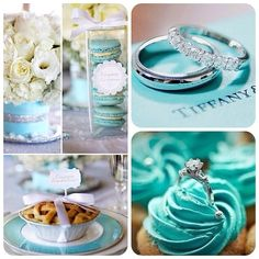 #wedding #weddingcake #macaroons #ring #blue #dessert #flowers #pie #reception #tiffany #tiffanycolors #white #yummy #roses #cupcake #diamond #jewerly #marry #love #bestwedding