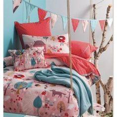 turquoise dekbedovertrek - Google Search  slaapkamer ideeën ...