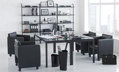 Tok&Stok Metric A Linha Metric foi desenvolvida sob o conceito de oferecer praticidade ao ambiente de trabalho.