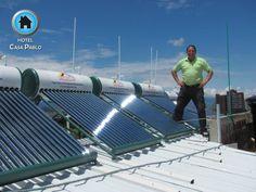 Hotel ecológico, en desarrollo del uso de energías renovables...