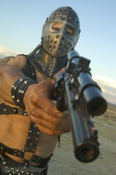 """Look post apocalyptic The Road Warrior - Mad Max 2 """"warrior of the wasteland, the Lord Humungus. the ayatollah of rock-and-rollah! Mad Max 2, After Earth, The Road Warriors, Westerns, Post Apocalyptic Fashion, Mad Max Fury Road, Mel Gibson, Cinema, Sci Fi Movies"""