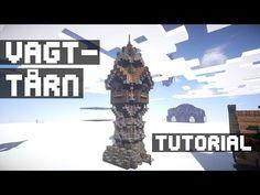 (Danish) Minecraft - Viking Guard Tower [TUTORIAL] - YouTube