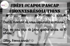 Bon, après un léger relâchement à la fin de l'année, j'espère que vous êtes de nouveau super motivé(e)s pour mes petits défis :)  Alors, #capoupascap ?