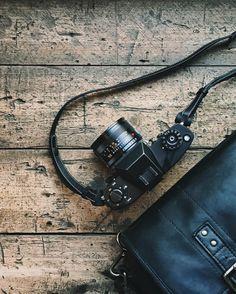 The Black Leather Prince Street messenger by Dan Rubin