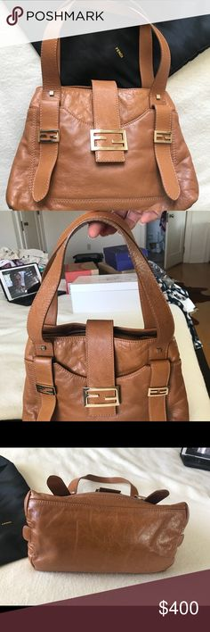 "Fendi bag Fendi bag, used few times, in like ""brand new condition"" Dust bag and authenticity card. Fendi Bags Totes"