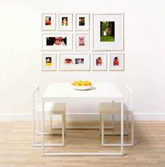 Inspired to create a professional-looking photo wall but intimidated by the process? Following are a few sources for putting together a well-ordered art wall.