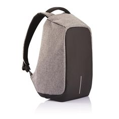 Bobby anti-theft backpack, grey