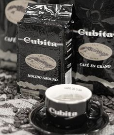 Buy Cubita Cuban Coffee online and have it delivered direct to your door. Other Cuban Coffees available to buy. Cafe Cubano, Cuban Coffee, Coffee Branding, Starbucks Coffee, Coffee Beans, Make It Yourself, Tea, Tableware, Key West