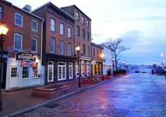 Baltimore Fell's Point at Dawn - Baltimore Maryland Photographer Marty Katz Lifestyle Photography