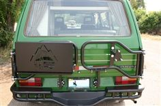 Vanagon Swing away carrier with folding shelf