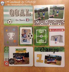 #projectlife #PL #layout #soccer scrapbook #voetbal