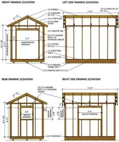 Garden Sheds Blueprints shed plans 8 x 8 : wooden project tools | handy man | pinterest