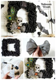 This is part of the Jo-Ann Fabric and Craft Stores® Celebrate the Season campaign. All opinions are mine!  With Halloween only 10 days away, I can't believe I am finally posting my Halloween Mantel! Its been up for a couple weeks, I just haven't h