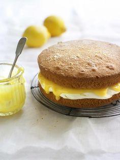 Gâteau fourré à la crème de citron ?