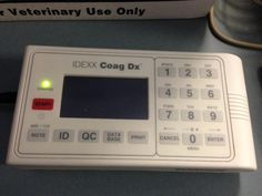 Coag DX - This machine allows our team to diagnose clotting disorders in pets Journey's End, Disorders, Pets