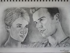 Tris and Four (Fourtris) from The Divergent Series