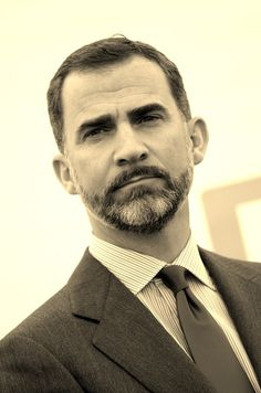 Crown Prince Felipe....will become Spanish King, as father, Juan Carlos abdicates. http://www.pinterest.com/EvieDevereux/kings-queens-princes-princesses-lords-ladies-tsars/